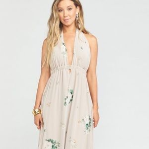Show Me Your MuMu | Luna Halter in Bouquet Toss